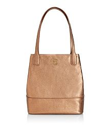 Love this! Great Staple to have to make any outfit complete this Holiday Season! Small Metallic Michelle Tote