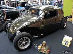 Volksrod & Top chopped VW Beetle by WillVision Photography, via Flickr