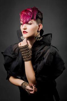 Stelios Papas City Salon / Model: Rose / Stylist: Tim Di Carlo / Colourist: Santina Fazio / Makeup - Kayreen / Fashion stylist - Tamzen Holland / Photographer- Elizabeth Grinter