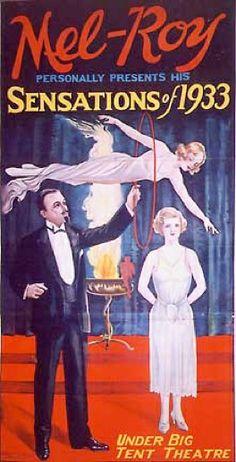 Mel-Roy Magician 1933