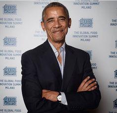 #44thPresident #BarackObama #Keynote #Speaker international food summit/ Seeds & Chips - The Global Food Innovation Summit Tuesday May 9, 2017 #Milanio #Italy The former President met with former #Italianleader #MatteoRenzi #SaC2017 #seedsandchips #globelfoodinnovation #climatechange #FutureOfFood #fieramilano #ObamaLegacy #ObamaHistory #ObamaLibrary #PresidentialCenter #ObamaFoundation Obama.org