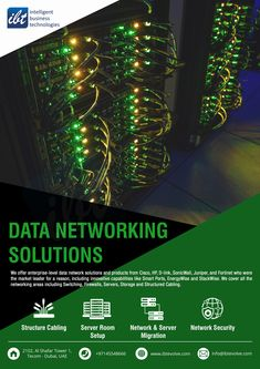 Over one decades of experience planning, designing and implementing the most complex data networking infrastructure for SMBs to Large Enterprises. Innovation Strategy, Innovation Design, Intelligent Technology, New Technology, Wide Area Network, Content Delivery Network, Network Infrastructure, Network Solutions, Dubai