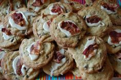 a bird and a bean: bacon maple chocolate chip cookies