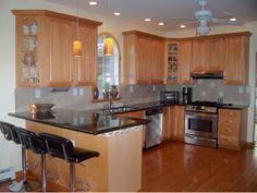 Maple kitchen, 7 Marion Court #Binghamton, NY #HomesForSale