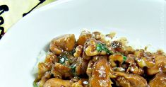 Food, recipes, tablesettings, and lifestyle inspiration. Walnut Chicken Recipe, Chicken Recipes, Kung Pao Chicken, Chicken Wings, Chinese, Asian, Meat, Lifestyle, Ethnic Recipes