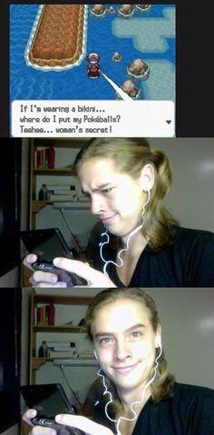 The Secret #Pokemon #Women