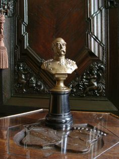 Figur Bismarck Um 1880 Andenken Figurine Skulptur Büste Schreibtisch - Deko | eBay