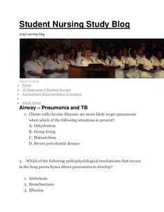 Student Nursing Study Blogamys nursing blogSkip to contentHome10 Diagnoses 4 Student NursesAssessment Documentation Exampl...