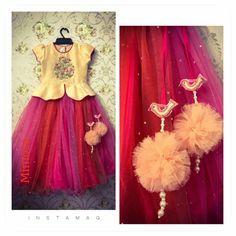love the latkans Baby Girl Dress Patterns, Little Girl Dresses, Girls Dresses, Flower Girl Dresses, Frock Patterns, Baby Dress, Kids Indian Wear, Kids Ethnic Wear, Kids Dress Wear