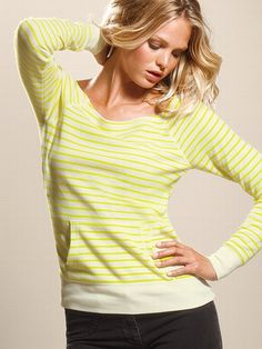 Thermal Off-the-shoulder Pullover