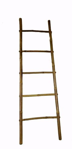 5' Bamboo Ladder Rack Handcrafted from by Mastergardenproducts