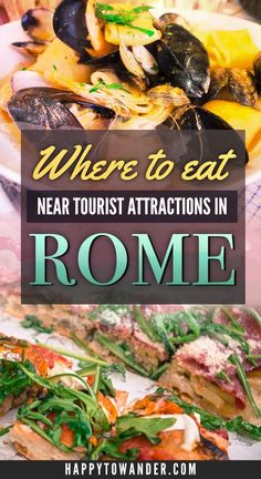 Places to Eat in Rome Near the Tourist Hotspots An awesome list of where to eat in Rome near the tourist hotspots! Delicious eats with great locations in Rome - a must-pin for your future travels!:Awesome Awesome may refer to: Italy Travel Tips, Rome Travel, Travel Europe, Travel Usa, Travel Packing, European Travel, Best Places To Eat, Cool Places To Visit, Tourist Attractions In Rome