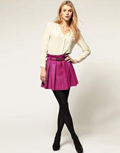 I need this magenta skirt!