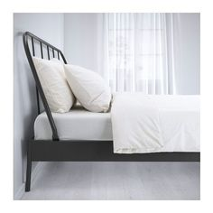 KOPARDAL Bed frame IKEA 16 slats of layer-glued birch adjust to your body weight…