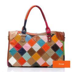 Women PU Patent Leather Elegant Handbag Shoulder Bag Crossbody Bag - US$58.08