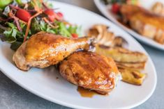 Fried Chicken with Sweet and Spicy Glaze – Canuonline Honey Garlic Sauce, Honey Garlic Chicken, Chicken Steak, Fried Chicken, Raw Chicken, Rotisserie Chicken, Vegan Casserole, Baked Chicken Recipes, Sweet And Spicy