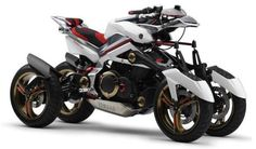 Yamaha Tesseract Four Wheeler. This is what I'm going to ride when I get my super powers