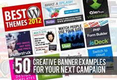 50 Creative Banner Examples For Your Next Campaign