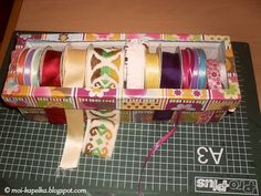How to make a ribbon organizer – Recycled Crafts
