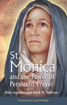 Saint Monica was an early Christian saint and the mother of St. Augustine of Hippo. She is honoured in the Roman Catholic Church whe. Catholic Books, Catholic Prayers, Roman Catholic, Novena Prayers, Female Catholic Saints, Catholic Homeschooling, Catholic Religion, Catholic Quotes, True Religion