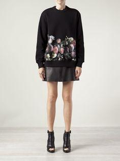 GIVENCHY - rose print sweatshirt 7