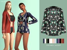 colors Found in TSR Category 'Sims 4 Female Sleepwear' Sims 4 Game Mods, Sims Mods, Sims 4 Mods Clothes, Sims 4 Clothing, Sims 4 Mm, My Sims, Maxis, Sims 4 Gameplay, Sims4 Clothes