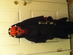 Homemade child Darth maul costume & child deluxe darth maul costume   Halloween Costumes   Pinterest ...