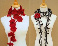 flower scarf ispiration