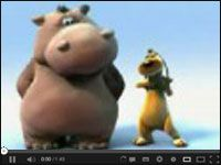 Zabawny hipopotam który tańczy ze swoim przyjacielem http://www.smiesznefilmy.net/super-spiewajacy-hipopotam #hipopotem #animacja #bajka