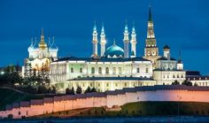 Kazan, capital of Tatarstan, mix of Islam and Christian culture