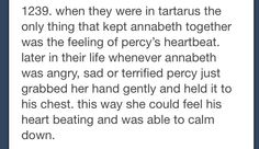 Percy Jackson head canons on Tumblr. I just died inside of happiness. Percabeth!!!