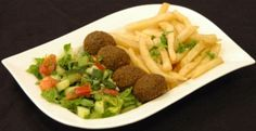 Vegetarian Falafel Lunch Special from Salem Restaurant in Chicago, IL