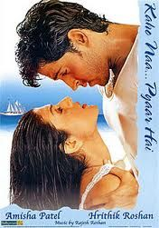 Kaho Na Pyaar Hai.  Amisha Patel.  Hrithik Roshan.  A romantic suspense thriller.  And why not get stranded on a deserted island while you're at it?  ;-)