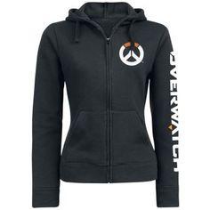 Overwatch Logo Veste à Capuche Femme noir