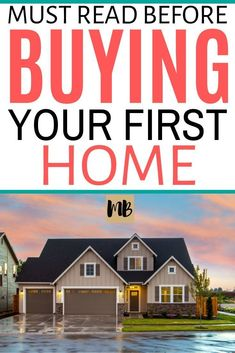 Must read mortgage tips you should know before buying your first home. I wish I would have known about these things before I bought my first home. Buying Your First Home, Home Buying, Savings Planner, Mortgage Tips, Home Management, First Time Home Buyers, Financial Tips, Money Tips, Personal Finance