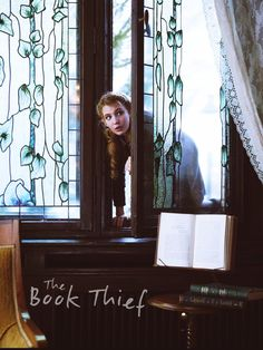 "The first photos from the adaptation of ""The Book Thief"" by Markus Zusak starring Sophie Nelisse have been unveiled. Markus Zusak, Sophie Nelisse, Good Books, My Books, The Book Thief, Blu Ray, Romance, One Image, Frases"
