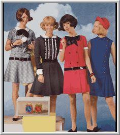 moda de los años 60 - Buscar con Google