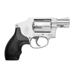 S .38 special-hammerless so it won't get caught in my purse. I'm my own bodygaurd.    No woman should feel vulnerable, if this is what it takes then so be it.