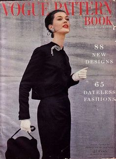 The Vogue Pattern Book, 1953.