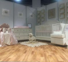 Hey it's Vanessa, day 2 of @decor_for_kids Instagram take over at the #ABCKids15 Expo in Las Vegas, NV.  I was honored to be asked by ABC to design celebrity inspired nurseries for the show floor. Here's one that was inspired by the Royal Baby@nessaleebaby @thenessalee #VanessaAntonelli  #ABCKids15 #decorforkids... - Home Decor For Kids And Interior Design Ideas for Children, Toddler Room Ideas For Boys And Girls