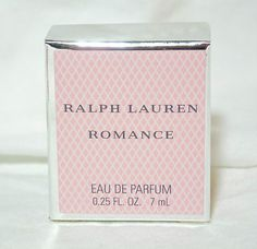 Ralph Lauren ROMANCE Eau de Parfum Purse Size Women's Splash .25 Oz NEW IN BOX  NEVER USED DESIGNER PERFUME EASTER GIFT     5 product reviews    Seller information  justinsublime (1612  )    100%Positive feedback  Save this seller  See other items     AdChoice  Item condition:New  Time left: 3d 03h (Mar 07, 2013 17:44:27 PST)  Starting bid:US $7.27  [0 bids ]