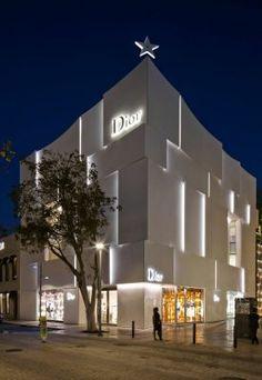 Dior Shop Facade in Miami - e-architect