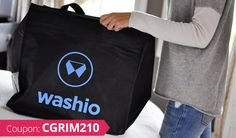 On-demand laundry service Washio has spent the last six months streamlining the routing algorithm it uses to dispatch pick-up drivers, so it will now offer laundry pickup in 30 minutes or less. Dry Cleaning Services, 10 Off, Laundry Service, Digital Trends, Pick Up, Coupon Codes, Messenger Bag, Coupons, Coding
