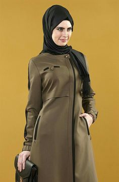 Hijab Style Dress, Hijab Chic, Hijab Outfit, Abaya Fashion, Muslim Fashion, Borka Design, Turkish Wedding, Islamic Clothing, Winter Fashion Outfits