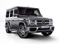 Mercedes-Benz G63 AMG SUV // Starting at $134,300 USD
