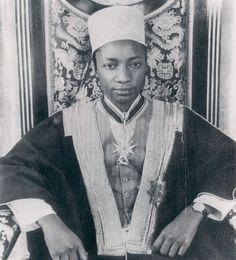 King Mutesa Uganda 1953