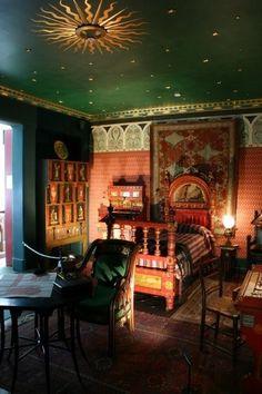 Bedroom gypsy style