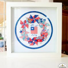 Mix & Match Challenge: 4th of July Home Decor