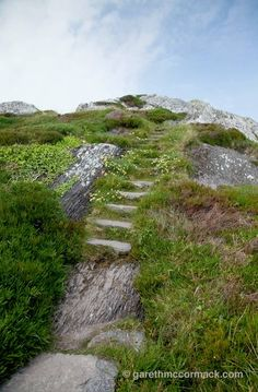 The old Mass Path, Derrynane Harbour, Caherdaniel, Co Kerry, Ireland. Gareth McCormack
