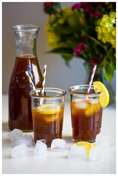 Iced Coffee Lemonade is a refreshing blend of cold brew coffee and sweet lemonade. It may sound a little strange, but it's surprisingly delicious! Perfect for summer!   http://www.thehungrytravelerblog.com/